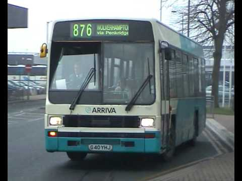 Buses seen around Arriva Midlands North 2003