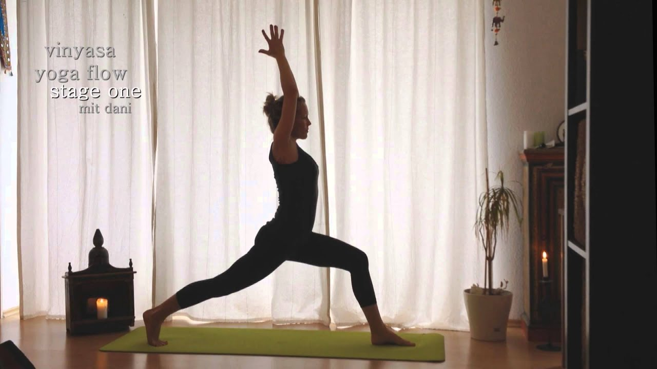 Yoga Beginners Intermediate Level Vinyasa Yoga Flow Stage One