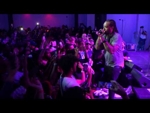 "live performance: Ty Dolla $ign, ""Paranoid"" at #uncapped - vitaminwater & FADER TV"