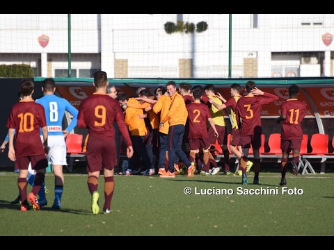 UNDER 16 A B, ROMA - NAPOLI 3-0