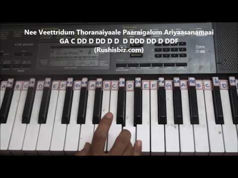 Vandhaai Ayya (Baahubali 2) Piano Tutorials - Full Song | 7013658813 - PDF NOTES/BOOK - WHATS APP US
