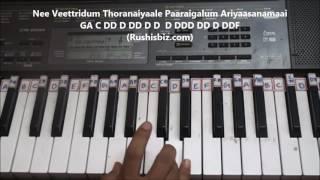 Vandhaai Ayya (Baahubali 2) Song Piano Tutorials - Full Song