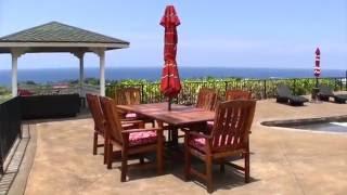 Pacific Vista Retreat Vacation Home in Kona on the Big Island of Hawaii