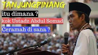 JAMAAH MEMBLUDAK !! PENGAJIAN USTADZ ABDUL SOMAD di Tanjungpinang Kepri 2019 - Mesjid Dompak