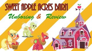 My Little Pony Sweet Apple Acres Barn playset featuring Granny Smith