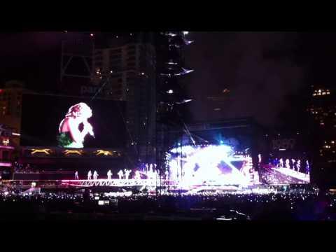 Taylor Swift Shake It Off Live 1989 Tour Petco Park
