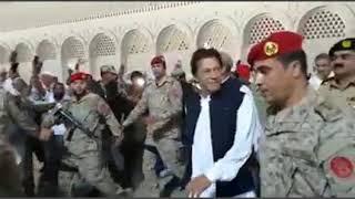 Imran khan visit to saudia in Makkah