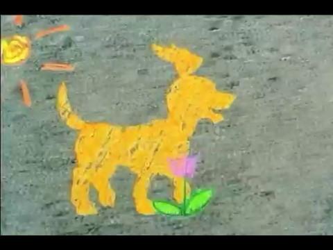 Nick Jr Bumper - Chalk Dogs (2002) - YouTube