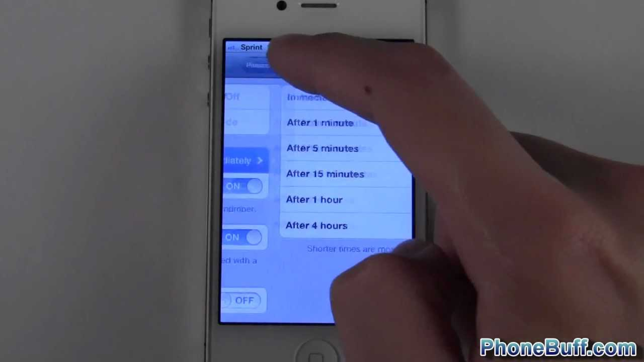 get into a locked iphone how to set lockscreen passcode on the iphone 16990
