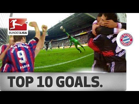 Top 10 Goals – FC Bayern München