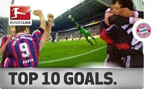 Top 10 goals - fc bayern münchen