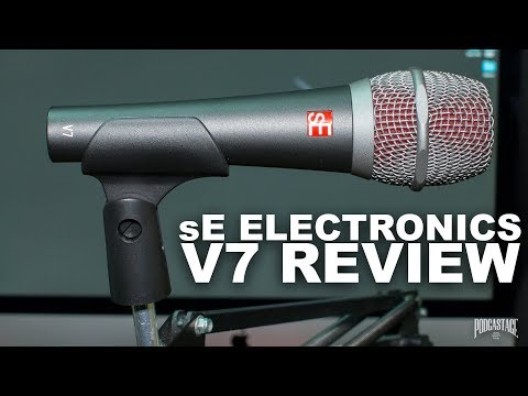 sE Electronics V7 Dynamic Mic Review / Test