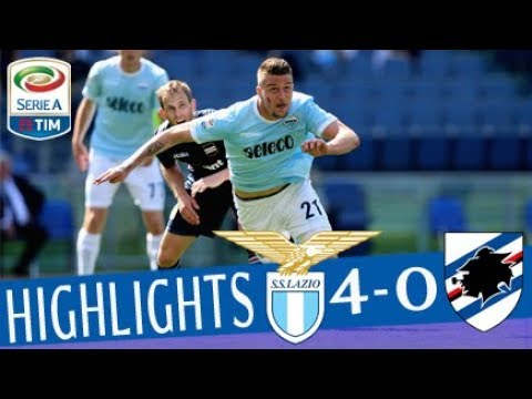 Lazio - Sampdoria 4-0 - Highlights - Giornata 34 - Serie A TIM 2017/18