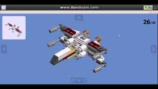 Лего Інструкція по збірці Х-крив