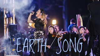 Gambar cover EARTH SONG by Pritta Kartika - The Voice - with Stradivari Orchestra | cover version