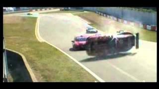 Crash & Flip Accent Racing at 24 Hours of Zolder 2010