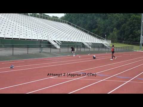 Triple Jump Training - 17m Short Approach Jump [Sa...