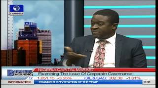 Business Morning: Examining The Issue Of Corporate Governance Part 1