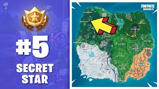 ⭐ WEEK 5 Season 9 - HIDDEN BATTLE STAR (secret Banner) - Fortnite S9
