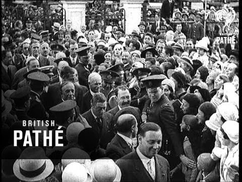 With The Prince In Buenos Aires Aka Prince Of Wales - Shorter Version (1931)