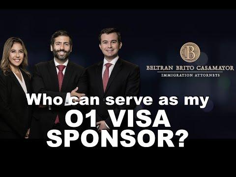 Who Can Serve As My O1 VISA  SPONSOR?