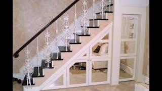 видео Дизайн подлестничного пространства в доме