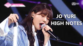 IZ*ONE - Jo Yuri High Notes Compilation
