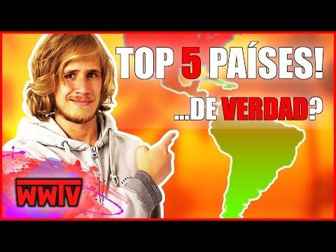 Los 5 países de Latinoamérica más famosos en Europa (Parte 2) │ WeroWeroTV