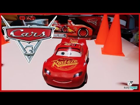 CARS 3 Movie Tech Touch Lightning McQueen Interactive Toy Car Preview