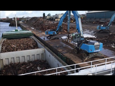 How Ship Loading Scrap @ Glasgow | Arklow Cape