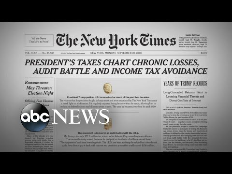 Report on Trump's taxes raises questions about businessman image | WNT