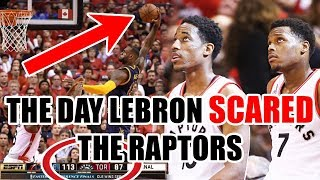 The Day The Raptors Became SCARED of LeBron James In The NBA Playoffs