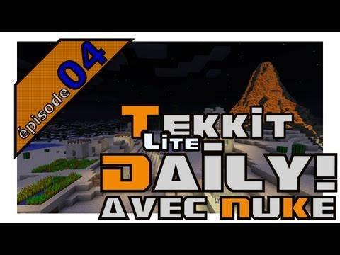 Tekkit Lite Daily avec NuKe (FRANCAIS / QUÉBEC) - Épisode 4