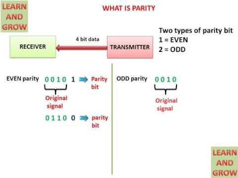 WHAT IS PARITY(हिन्दी )!LEARN AND GROW