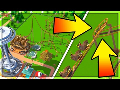 SCREW PHYSICS! RollerCoaster Tycoon Touch #2