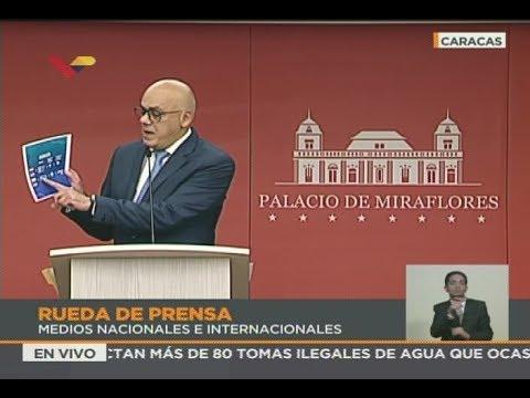 Todo lo que dijo Jorge Rodríguez sobre migraciones en Venezuela y 6.500.000 extranjeros en el país