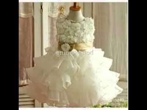 Party Dress Baby Girl - YouTube