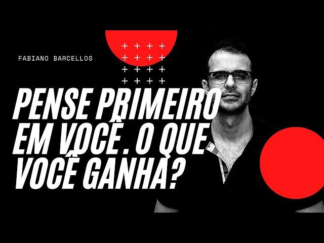 PENSE PRIMEIRO EM VOCE