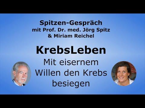 KrebsLeben und mentaler Einfluss auf Heilung - Spitzen-Gespräch Miriam Reichel & Prof. Jörg Spit