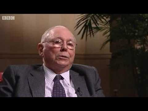 BBC NEWS Business Charlie Munger Boom and Bust Is Normal