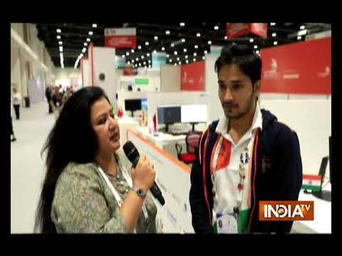 World Skills Contestant 2017 Saurabh Gupta as Web Design and Development in Abu Dhabi