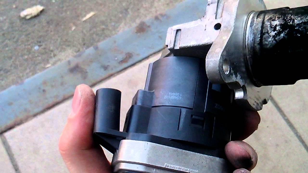 чистка клапана egr мерседес ml270