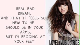 Carly Rae Jepsen  Tonight I'm Getting Over You - Lyrics On Screen + Download link