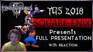 Kingdom Hearts 3 Tokyo Game Show FULL PRESENTATION w/ Reaction TGS ...