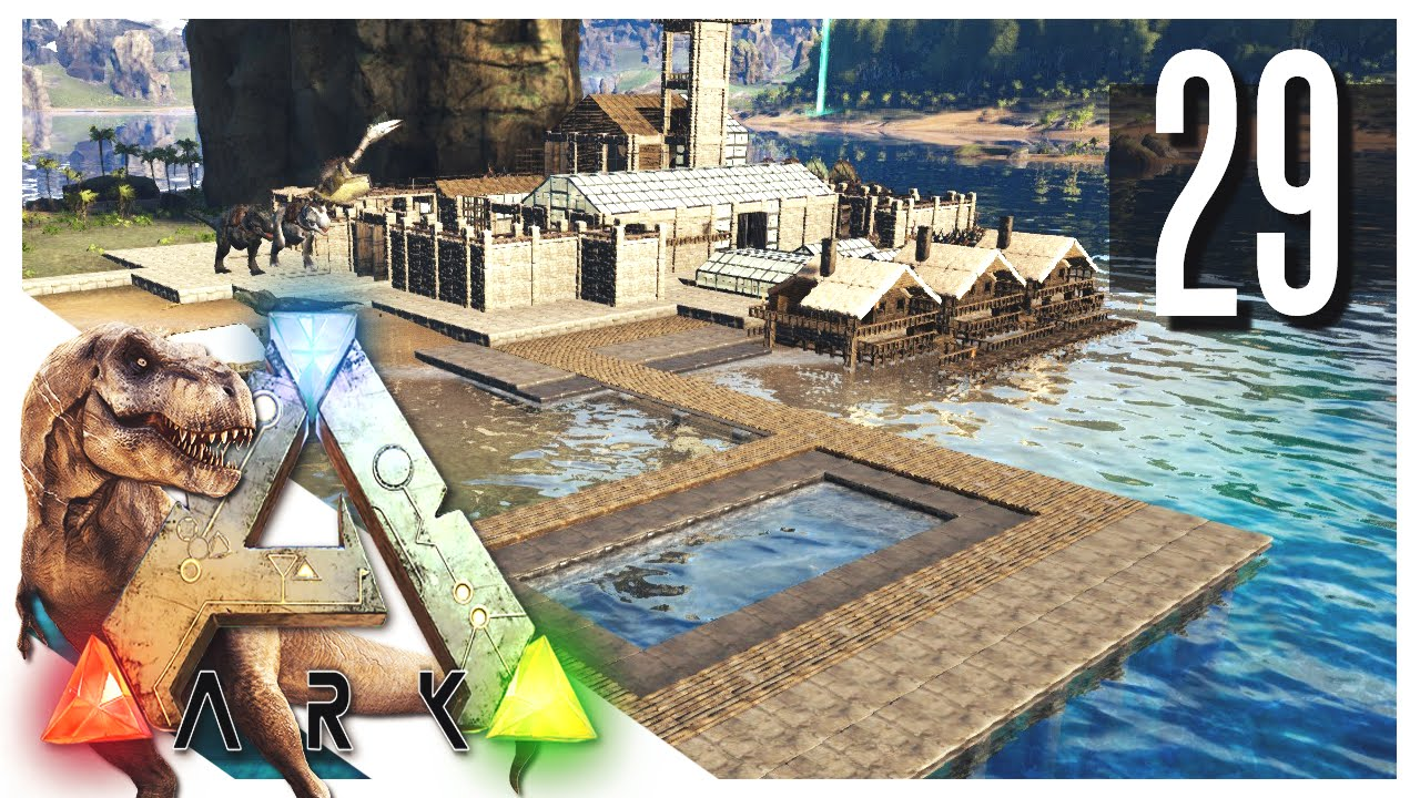 how to build a swimmin pool ark