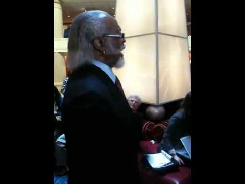 Jimmy McMillan stops in at CPAC