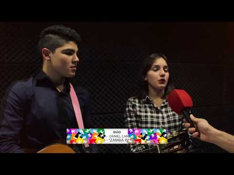 OLIMPÍADAS ESCOLARES CANTA: ARIADNA ACOSTA – DANIEL CARDOZO (EES Nº4)