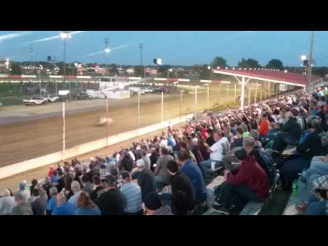 USAC Sprint Cars Heat 2  Terre Haute Action Track