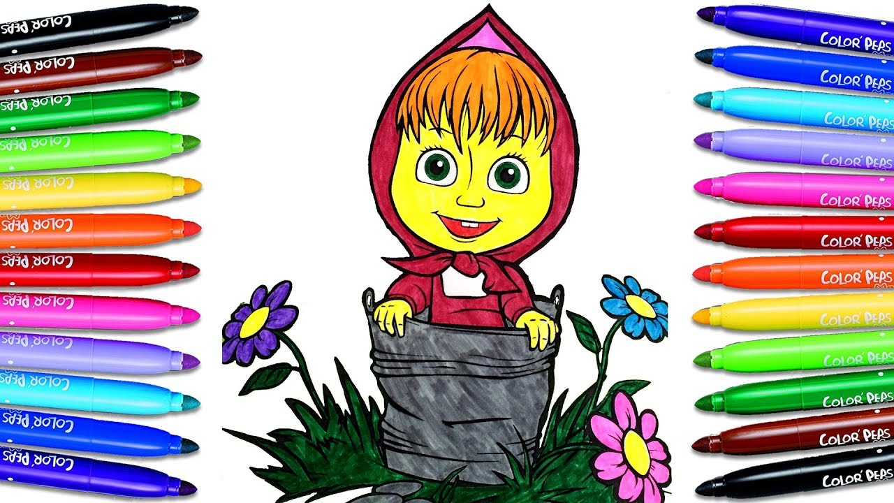How To Paint Masha And The Bear