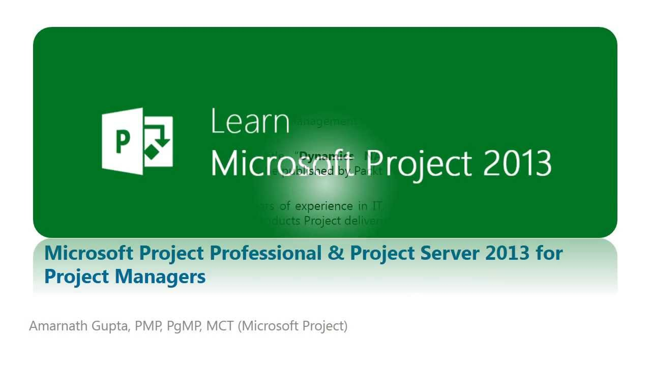 Learn ms project server